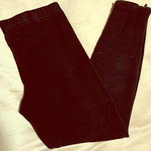 ABERCROMBIE AND FITCH winter leggings